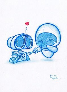 Walle and Eve