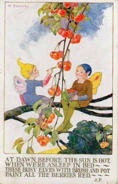 Red Berries Nursery Rhymes Poems, Children's Book Illustration, Book Illustrations, Red Berries, Fill, Simple, Pinterest Board, Painting, Pictures