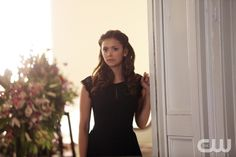 "The Vampire Diaries -- ""Let Her Go"" -- Image Number: VD615b_0064.jpg -- Pictured: Nina Dobrev as Elena -- Photo: Annette Brown/The CW -- © 2015 The CW Network, LLC. All rights reserved.pn"