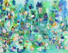 "Saatchi Art Artist Sarah Giannobile; Painting, ""dream of water"" #art"