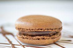 Schokomacarons mit Schokoladenganache - Rezept