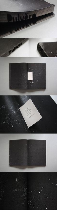"""Pulvero""  http://vayolene.tumblr.com/  Par Violaine Warchol #artistbook #designgraphique #edition"