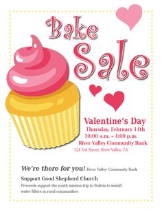 Editable Cake Sale Poster | Free Early Years & Primary Teaching ...