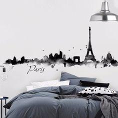 Paris Water Color. Skylines. My vinilo. vinilos decorativos. decoración de pared. papel tapiz. Decohunter. Encuentra donde comprar este producto en Colombia