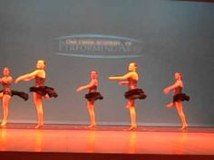 Gr. 9-12 Jazz, Fouettes, Spring 2012