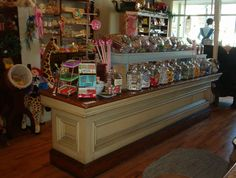 I'd own a building downtown with a vintage candy store.