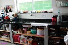 Cozinha aberta...