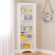 2 Door Corner Storage Cabinet