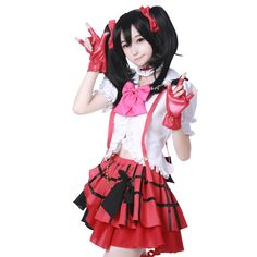 Cosplay Clothes Cosplay Costume Dress  nico yazawa   Taobao price US$50.41, pls click to buy this item through taobao agent