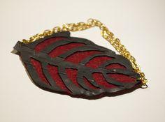 inner tube, felt bracelet/ Regalami le foglie