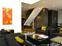 modern living room by Cynthia Lynn Photography