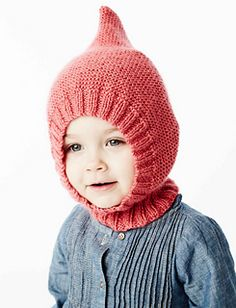 Ravelry: Little Gnome Hat pattern by Bernat Design Studio Baby Hats Knitting, Knitting For Kids, Baby Knitting Patterns, Free Knitting, Knitted Hats, Knitting Projects, All Free Crochet, Knit Crochet, Crochet Hats