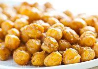 Snacks de Grão-de-Bico (vegana)