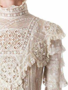 New Vintage Fashion Victorian Lace 59 Ideas Retro Mode, Vintage Mode, Vintage Style, Vintage Outfits, Vintage Dresses, Edwardian Fashion, Vintage Fashion, Style Édouardien, Victorian Lace