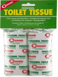 Coghlan\'s Toilet Paper - Package of 2