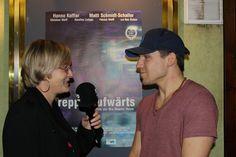 """Hauptdarsteller des Films """"Treppe aufwärts"""", Hanno Koffler, im Interview."""