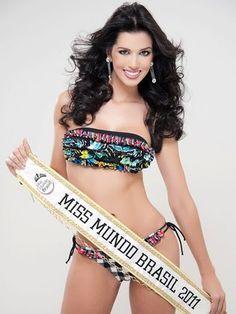Juceila Bueno - Miss World Brazil 2011