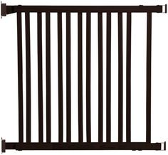 Dreambaby Nelson Wood Swing Gro-gate - L829 - Espresso - 30 To 48""