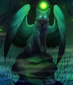 Fenrir, the wolf of Norse mythology and Vikings, learn this text to know the entire story about it and uncover a set of jewels on the theme of the wolf to take your breath away! Fantasy Wolf, Fantasy Beasts, Dark Fantasy Art, Pet Anime, Anime Animals, Anime Art, Cute Fantasy Creatures, Mythical Creatures Art, Magical Creatures
