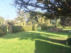 Portfolio and gallery of woven willow work - WonderWood Willow Fence, Willow Garden, Backyard Projects, Garden Projects, Garden Beds, Garden Art, Fire Pit Area, London Garden, Garden Sculptures