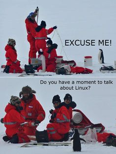 The penguin evangelist.