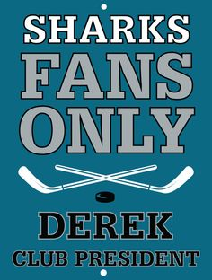 Sharks Custom Personalized Bar Sign  by thepersonalizedstore #ManCave #FathersDay #Groomsmen