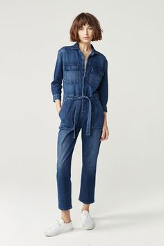 Aikido Coverall Jumpsuit | Elsa | 3x1 | Made Here