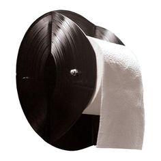 2 vinyl Records Toiletpaper Holder - Inspiration