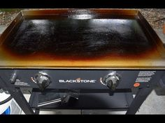 How To Clean A Blackstone Griddle Youtube Blackstone