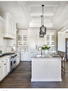 Black And White Kitchen Decorating Ideas | Black And White 45 Sensational Kitchens To Inspire Dream Home