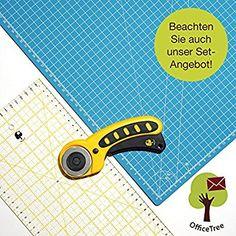 Snaply A1 Schneidematte + Rollschneider + Patchwork-Lineal: Amazon.de: Bürobedarf & Schreibwaren