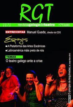 No marco da programación da Mostra Internacional de Teatro de Ribadavia presentouse o número 71 da Revista Galega de Teatro.