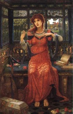 John Melhuish Strudwick ~ Oh Swallow, Swallow ~ 1894