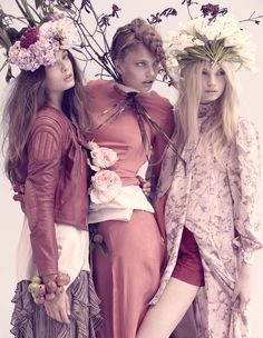 Bring Me Fall by Tomas Falmer; almost as if spring is impersonating fall in this editorial... interesting but it works