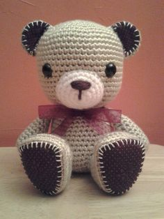 Crochet Amigurumi Teddy Bear  Crochet Bear