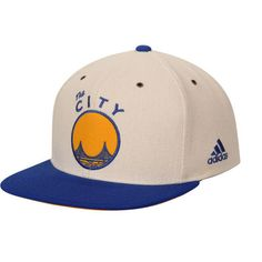 8fdbe17d3f4ee Golden State Warriors adidas 2-Tone Hardwood Classics Snapback Adjustable  Hat - White Royal