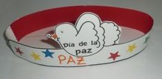 Corona dia de la paz Peace Crafts, Bird Crafts, Children's Church Crafts, Ballerina Party, Holiday Crafts For Kids, Holidays With Kids, Sunday School, Early Childhood, Special Day