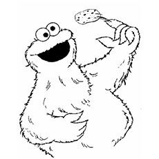 Is your kid fond of the Muppets on Sesame Street? Here are 10 free printable cookie monster coloring pages full of life & can be quite entertaining as well.