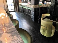 Herringbone oak parquet on floor in Chelsea Luxury Vinyl Flooring, Luxury Vinyl Tile, Amtico, British Pub, Vinyl Tiles, Commercial Interiors, Hallways, Herringbone, Colonial