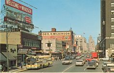 Downtown Windsor 1962