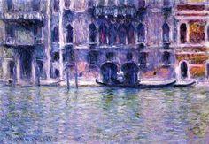 Palazzo da Mula Claude Monet - 1908