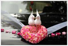 Wedding car - decoration