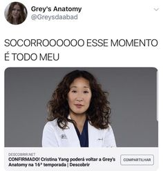 Greys Anatomy Br, Greys Anatomy Memes, Cristina Yang, Pretty Little Liars, Bb, Cinema, Wallpapers, Amazing, Closet