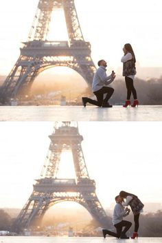 A photoshoot in Paris was part of her Christmas gift, but she had no idea it included a proposal in front of the Eiffel Tower!