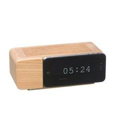 areaware   iPhone 5 Alarm Dock Natural