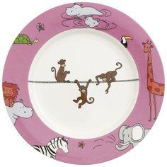Zoo flat plate, Monkey Villeroy & Boch