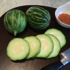 Apple Cucumbers :: Search by flavors, find similar varieties and discover new uses for ingredients @ preppings.com