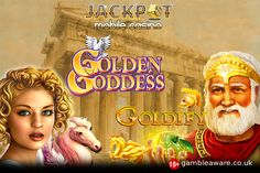 Know the difference between the 2 popular Greek-themed, Golden Goddess slots and Goldify slots at Jackpot Mobile Casino. #casino #slots #London