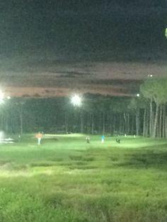 Avond golf