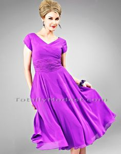 bridesmaids dress? at least it's modest  Trudy